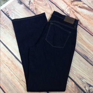 Lauren Jeans Co Classic Bootcut Size 12 Dark Wash